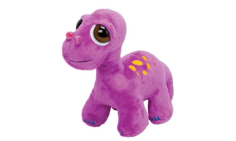 Large purple brontosaurus