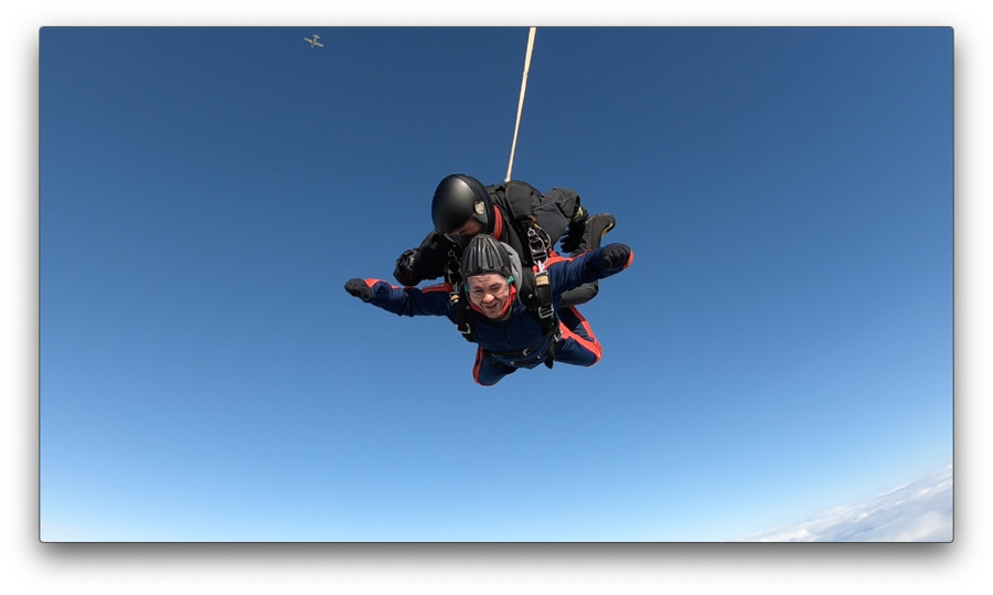 Barclays Scotland Employee Graeme took on a Skydive this year to help with his company's fundraising efforts
